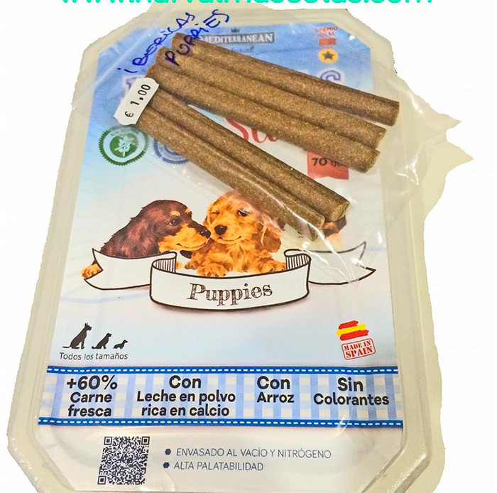 Ibéricas Sticks Puppies (Mediterranean Natural)