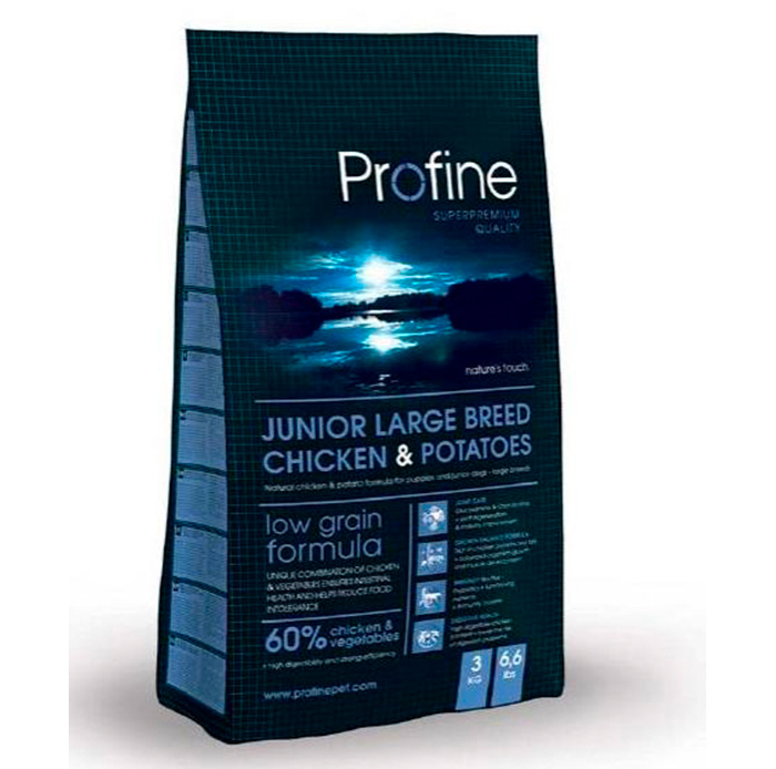 Junior Large Breed Chicken & Potatoes
